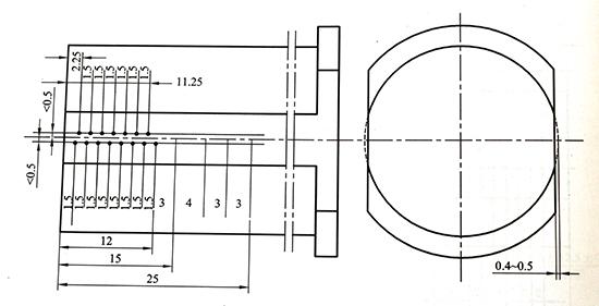低淬透性钢硬度测量点的位置.jpg